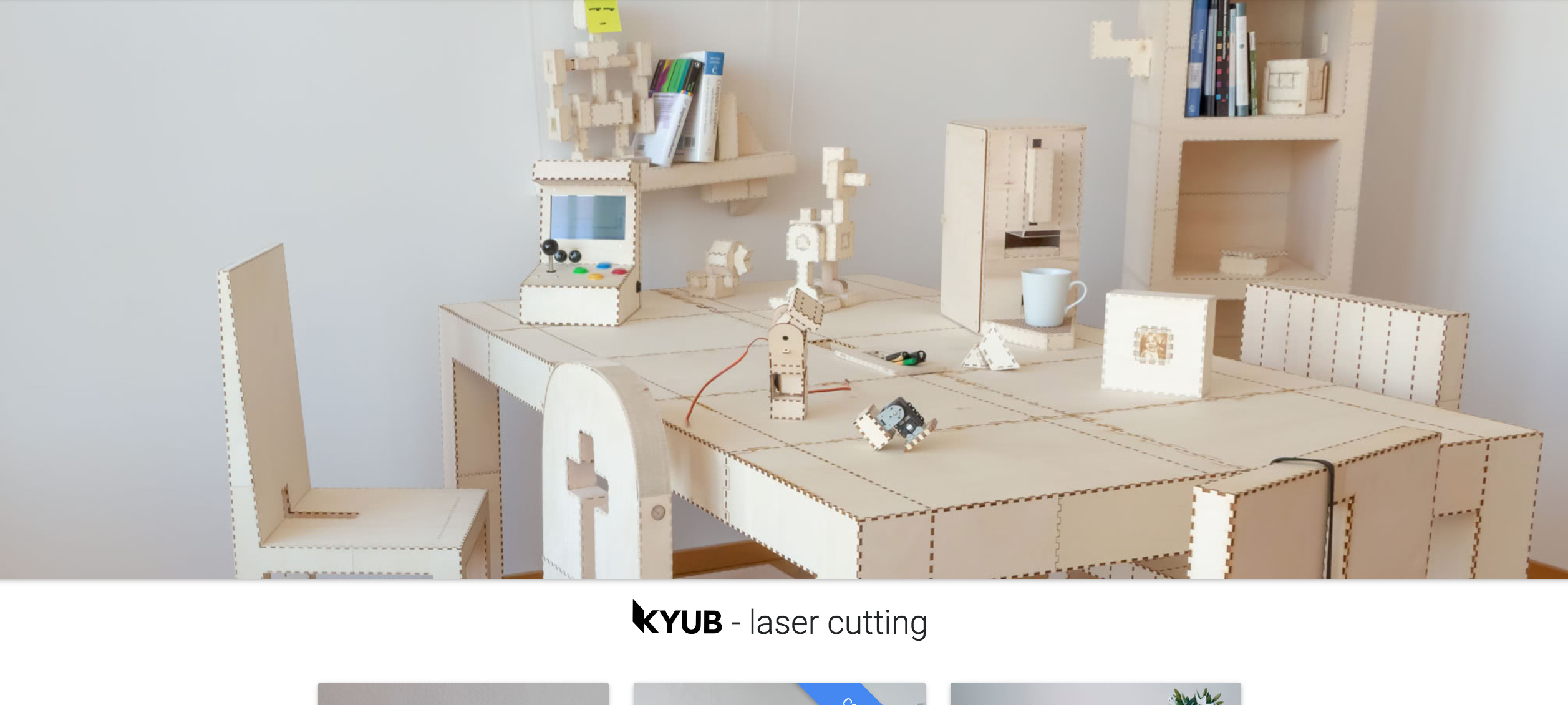 Trying out the new Laser Cutting software Kyub - Lasercutter